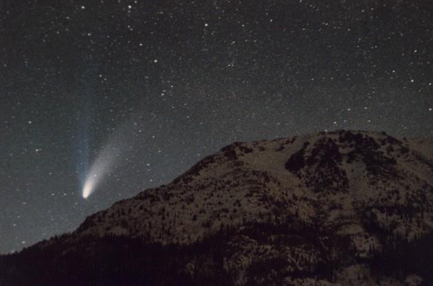 northern lights comet - photo #12